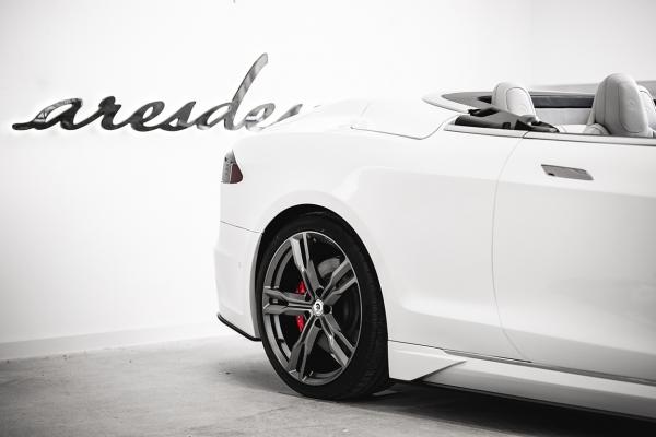 Tesla S cabriolet Ares Design